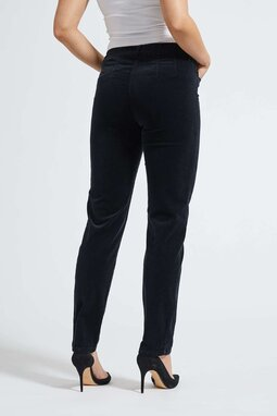 Kelly Regular Corduroy -trousers, black