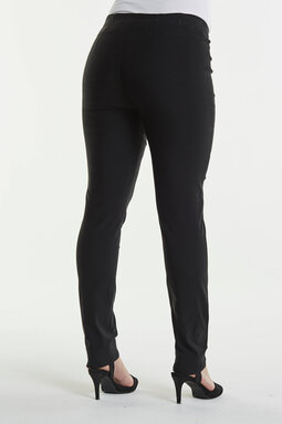 Vicky Slim Short -trousers, black