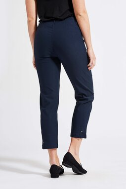 Rose Regular Cropped -trousers, navy