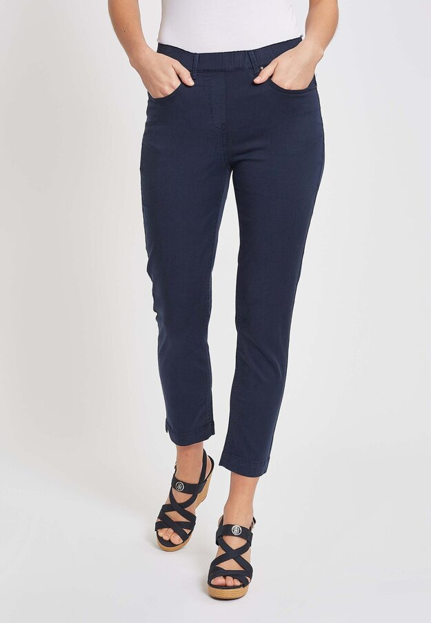 Faith Slim Solid Cropped -housut